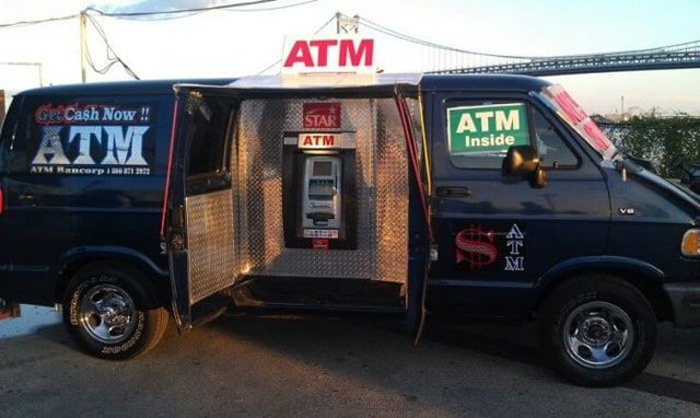 Unusual Mobile ATM Van That Will Provide You Cash Anywhere