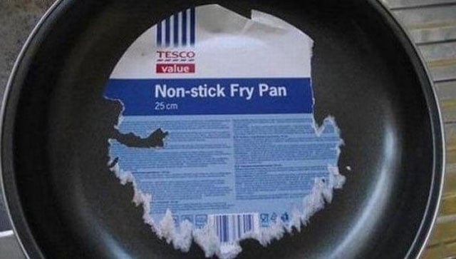 Epic Fail Non-Stick Fry Pan That Will Shock You