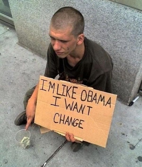 I Am Like Obama And Want Change That Will Shock You