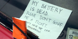 My Battery Is Dead – Funniest Note I have ever found