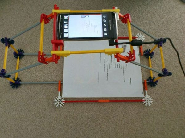 Homemade Paper Scanner Using Smartphone Will Blow Your Mind