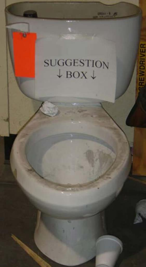 Funny Suggestion Box That Will Shock You