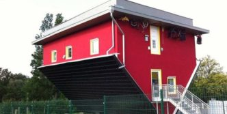 Unusual Creative Up Side Down House Will Shock You