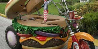 Funny Sandwich Bike Will Blow Your Mind