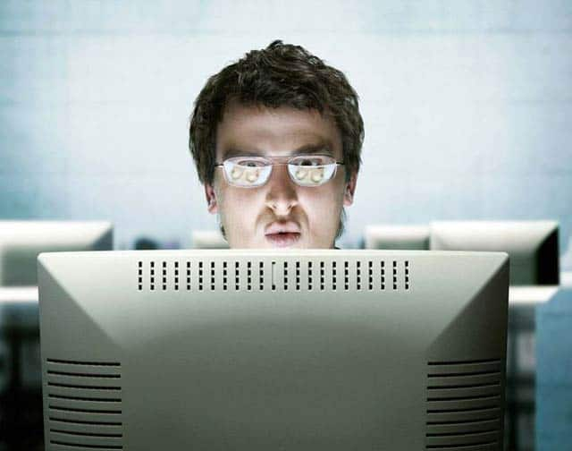 Guess Why He Shocked After Watching His Computer Screen