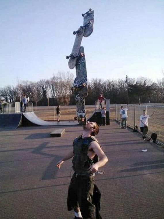 Amazing Skateboard Balance That Will Blow Your Mind