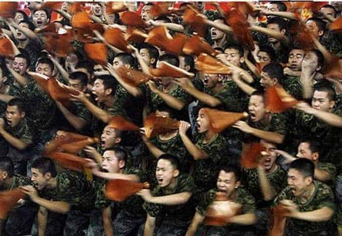 Crazy And Funny Soldiers From China - 12 Photos -10