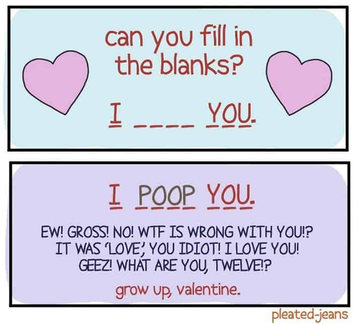 30 Funny Valentines Day Cards That are Mind-blowing -12