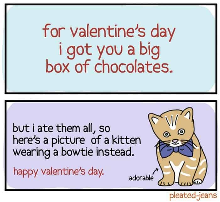 30 Funny Valentines Day Cards That are Mind-blowing -14