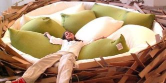 Human Nest Bed Funny Pictures