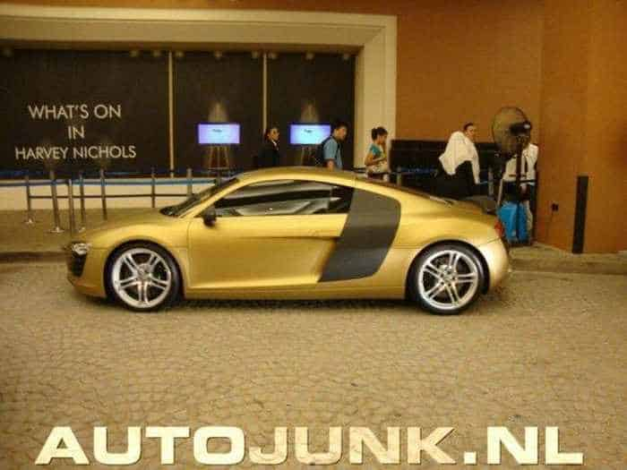 Awesome Gold Audi R8 Car Of The Day - 4 Pics -02