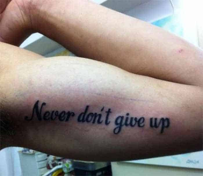 47 Hilarious Photos of Misspelled Tattoos That Will Make You LOL -38