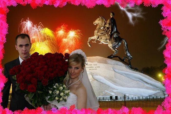 Hilarious Photoshopped Russian Wedding Photos (24 Pics)-14