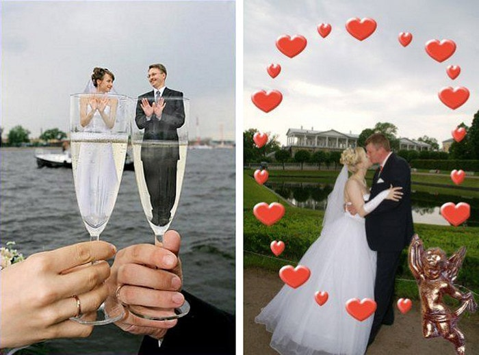 Hilarious Photoshopped Russian Wedding Photos (24 Pics)-22