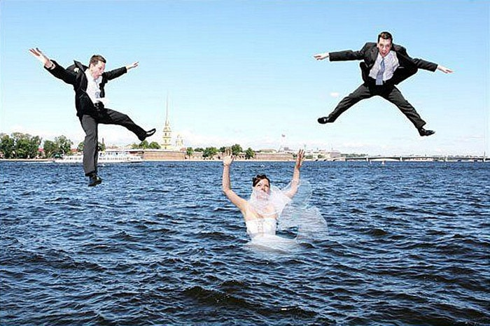 Hilarious Photoshopped Russian Wedding Photos (24 Pics)-23