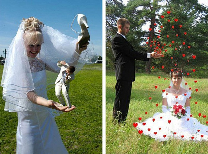 Hilarious Photoshopped Russian Wedding Photos (24 Pics)-24