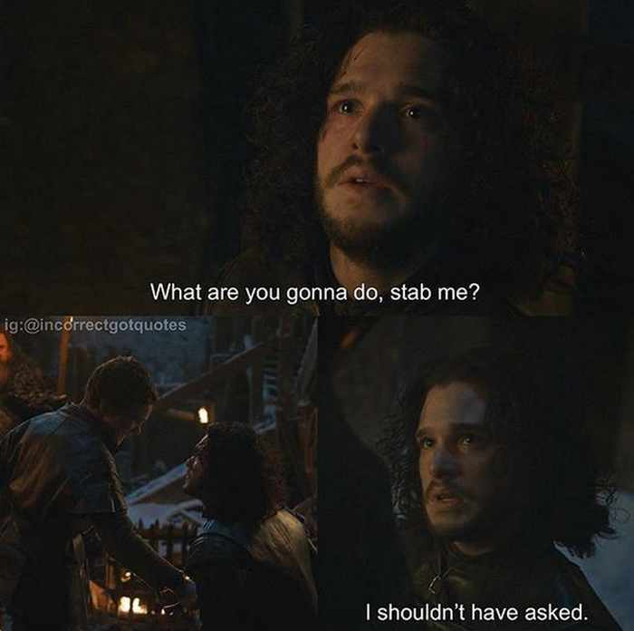 28 Hilarious Incorrect Game of Thrones Quotes Will Make You LOL -02