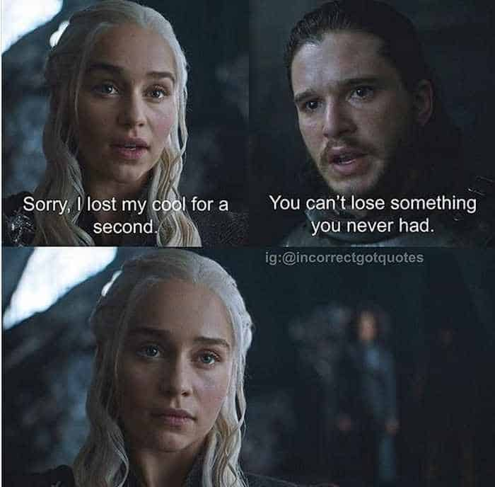 28 Hilarious Incorrect Game of Thrones Quotes Will Make You LOL -06