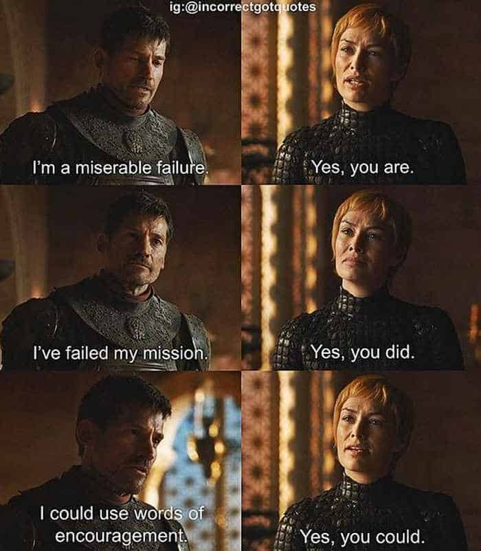 28 Hilarious Incorrect Game of Thrones Quotes Will Make You LOL -20
