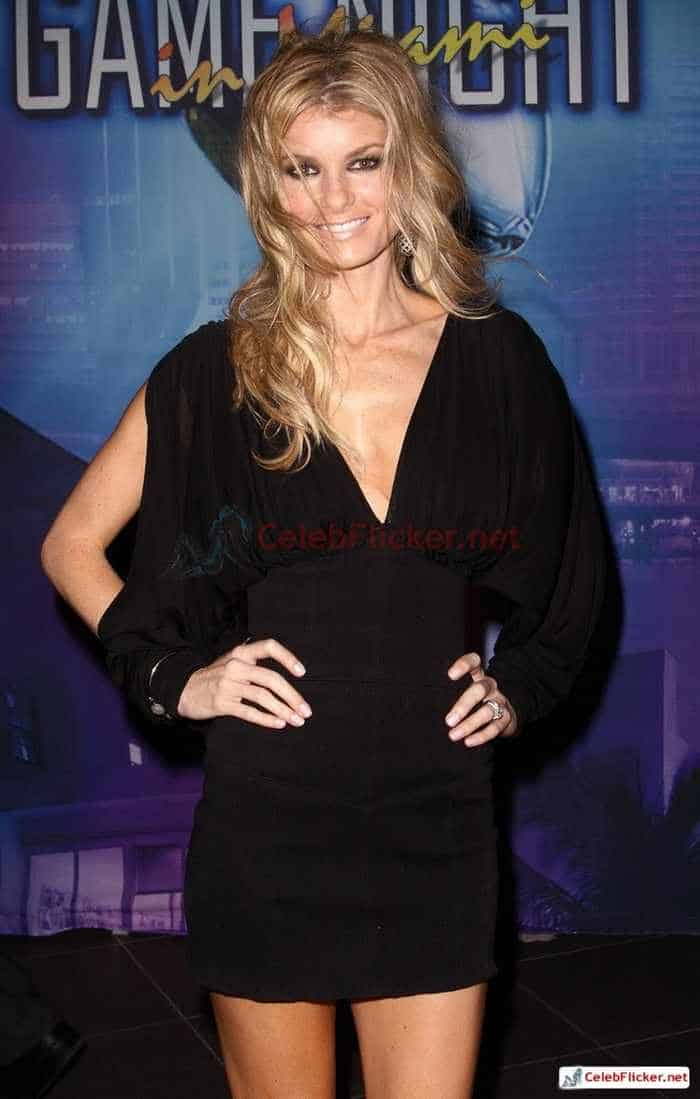 Marisa Miller in Sexy Black Mini Dress -02