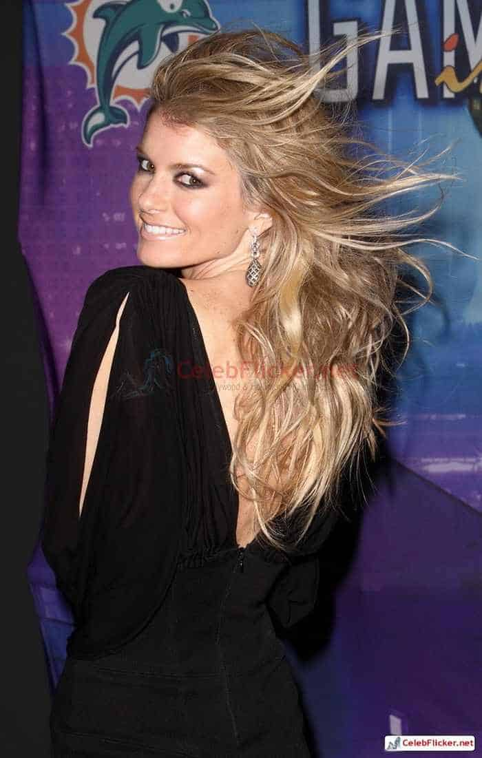 Marisa Miller in Sexy Black Mini Dress -09