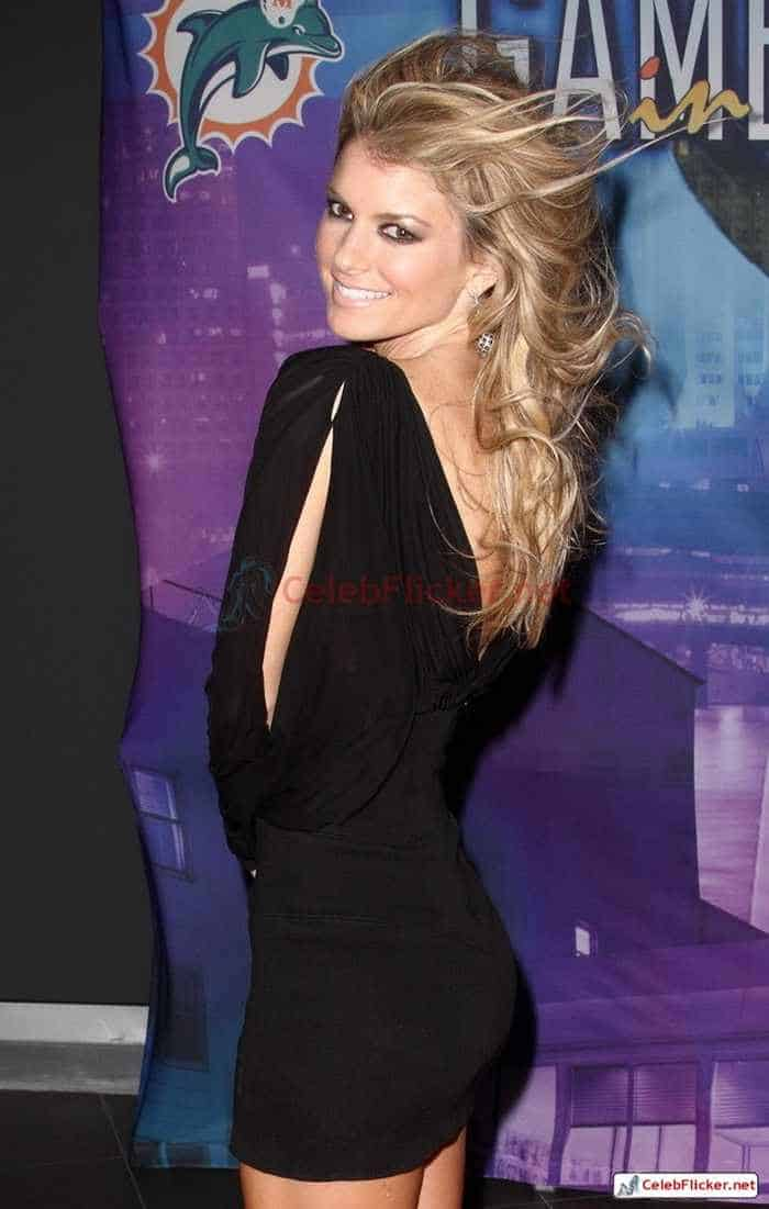 Marisa Miller in Sexy Black Mini Dress -10