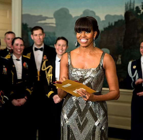 Michelle Obama's Oscars dress design fails Will Shock You -04