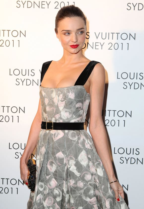 Beautiful Miranda Kerr At Louis Vuitton Maison Reception in Sydney -04