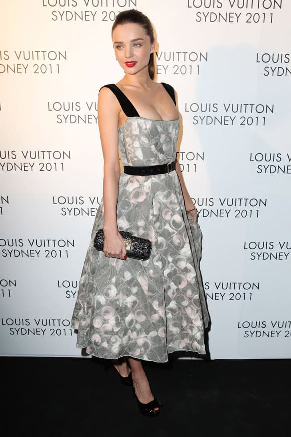 Beautiful Miranda Kerr At Louis Vuitton Maison Reception in Sydney -05
