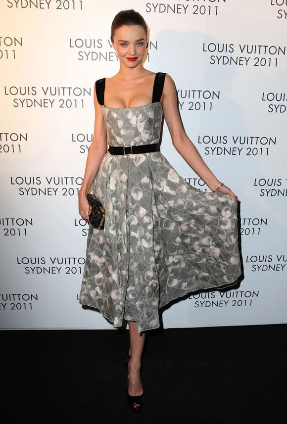 Beautiful Miranda Kerr At Louis Vuitton Maison Reception in Sydney -06