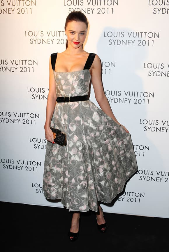 Beautiful Miranda Kerr At Louis Vuitton Maison Reception in Sydney -07