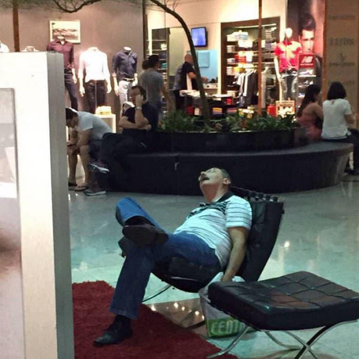 50+ Poor Miserable Husbands Meanwhile At Shopping Mall-19