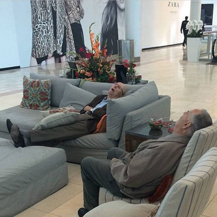50+ Poor Miserable Husbands Meanwhile At Shopping Mall-21