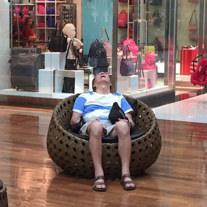 50+ Poor Miserable Husbands Meanwhile At Shopping Mall-41
