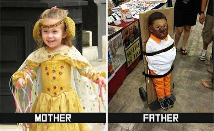 27 Mom Vs Dad Parenting Photos That Will Shock You-19