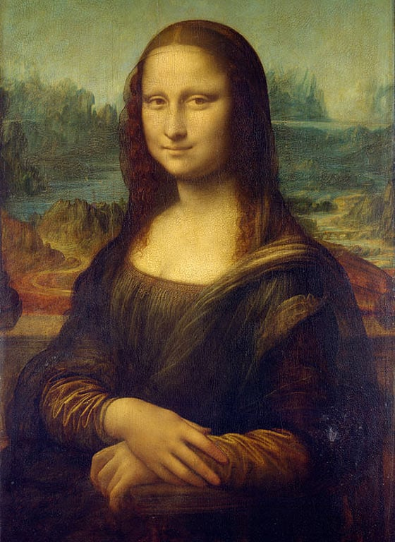 Meanwhile Mona Lisa In 1503 Vs Current That Will Blow You Mind -01