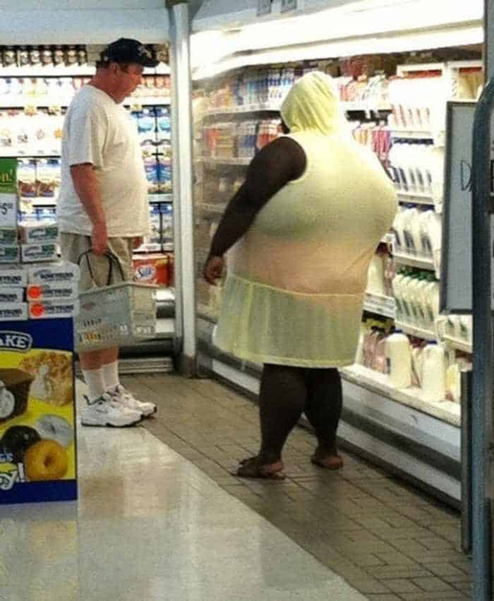 40 Funny Pics Of Most Ridiculous People Of Walmart -40