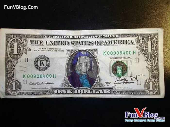 Hilarious And Funny Painted Dollars - 11 Pics -09