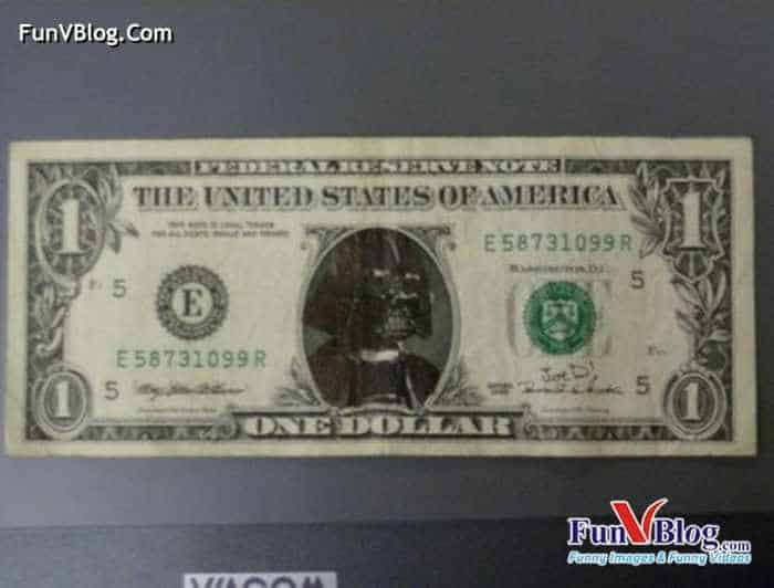 11 Mind-blowing Funny Paintings on US Dollar Bill -18