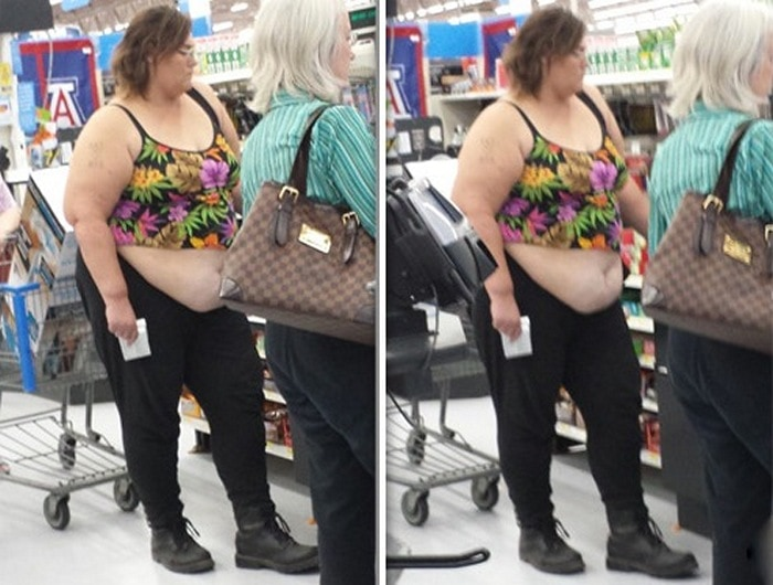 People Of Walmart That Are Too Ridiculous To Handle (100+ Pics)-52