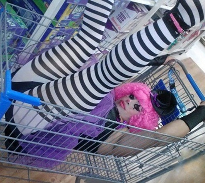 People Of Walmart That Are Too Ridiculous To Handle (100+ Pics)-66