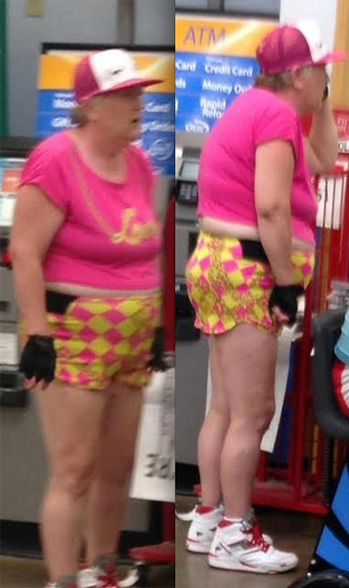 People Of Walmart That Are Too Ridiculous To Handle (100+ Pics)-72
