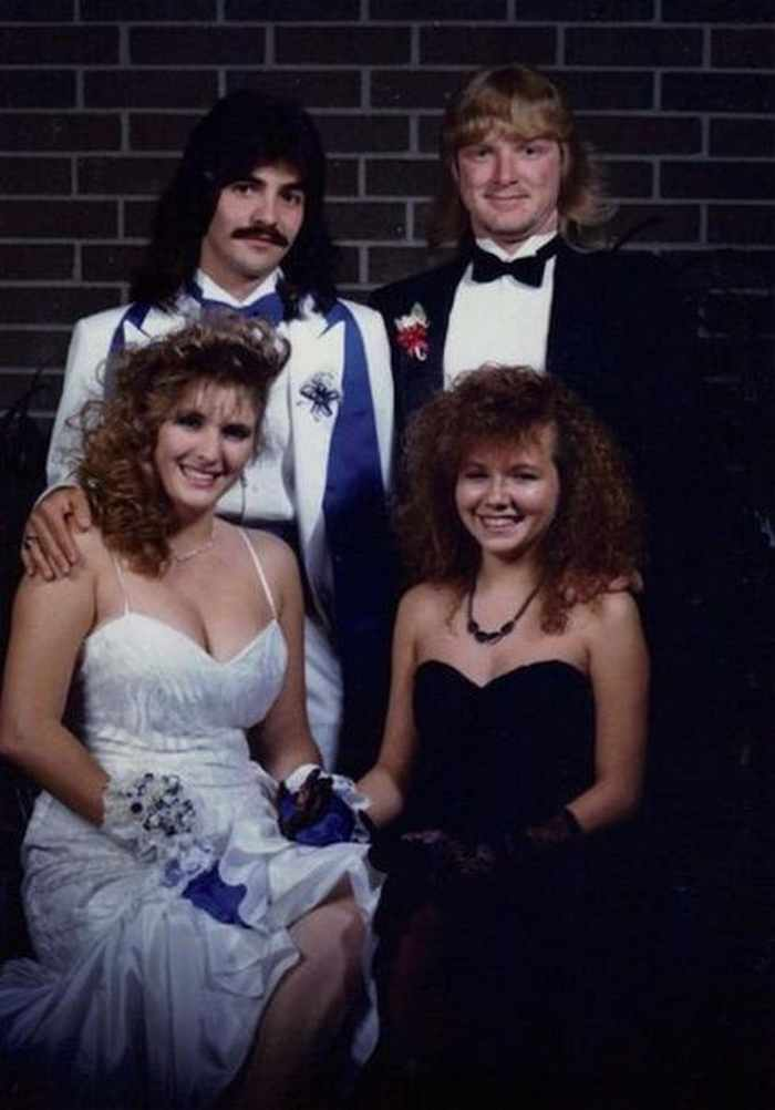 50 Ridiculous 80's Prom Photos That Will Make You Laugh -19