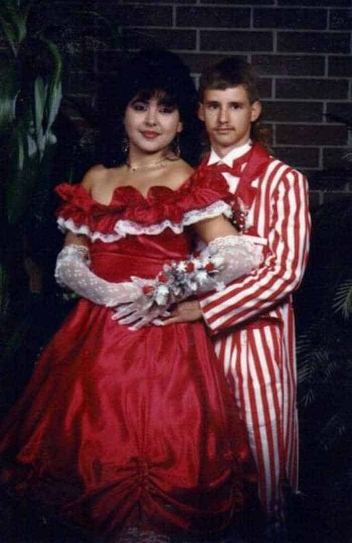 50 Ridiculous 80's Prom Photos That Will Make You Laugh -24