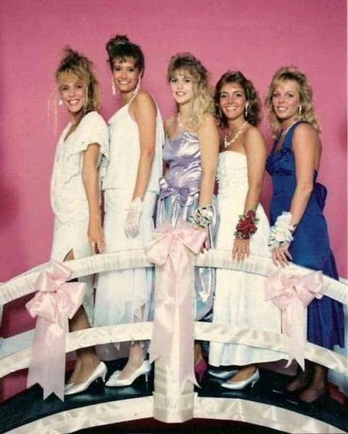 50 Ridiculous 80's Prom Photos That Will Make You Laugh -43