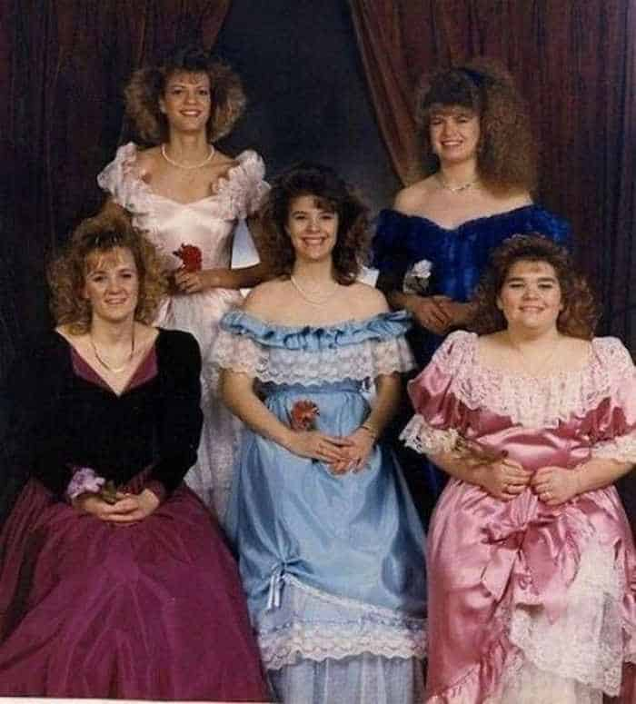 50 Ridiculous 80's Prom Photos That Will Make You Laugh -46