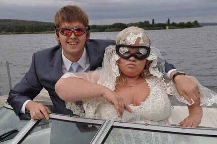 40 Ridiculous Photos of Russian Weddings That Are Hilarious -16