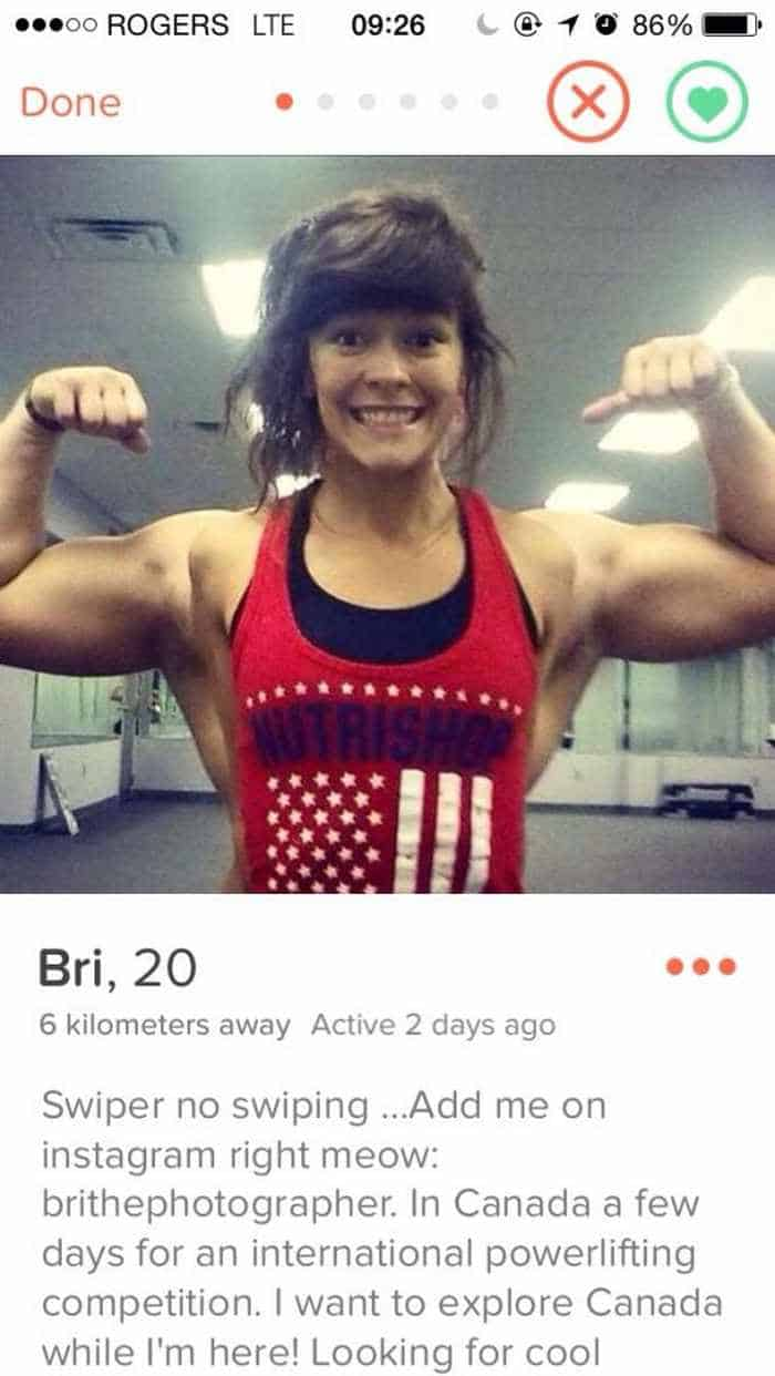 Ridiculous Tinder Profiles That Will Make You Say WTF Page - 20 strange tinder profiles that will make you laugh