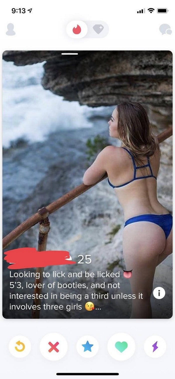 23 Shameless Tinder Girl Profiles For You to Swipe On-19