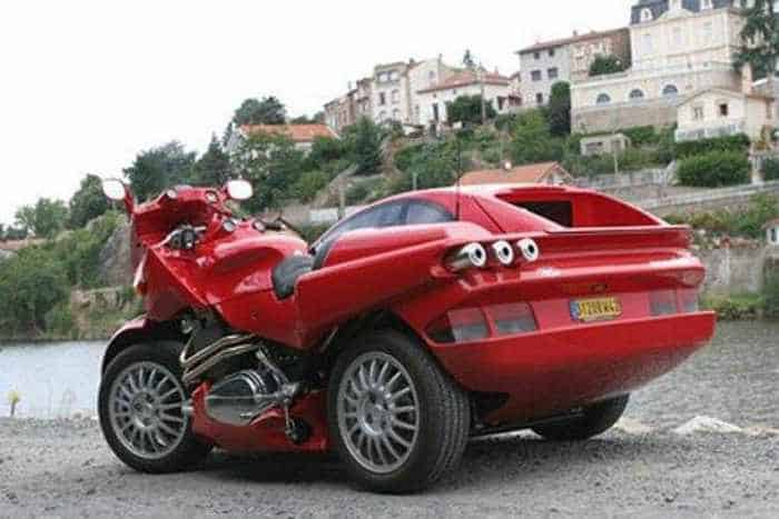 Snaefell Awesome Motorcycle And Car Combo -05